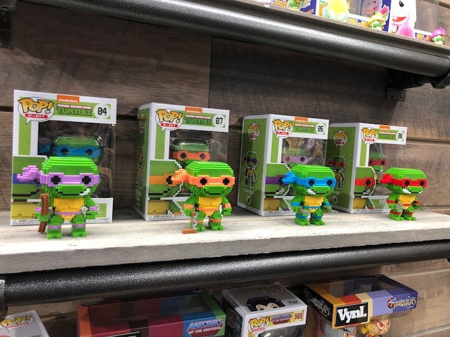 ninja turtles funko pop