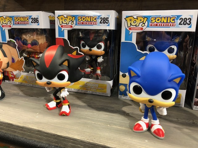 sonic the hedgehog funko pops