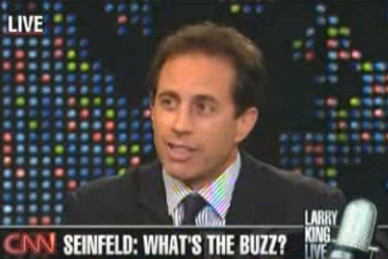Jerry Seinfeld answers interview questions.