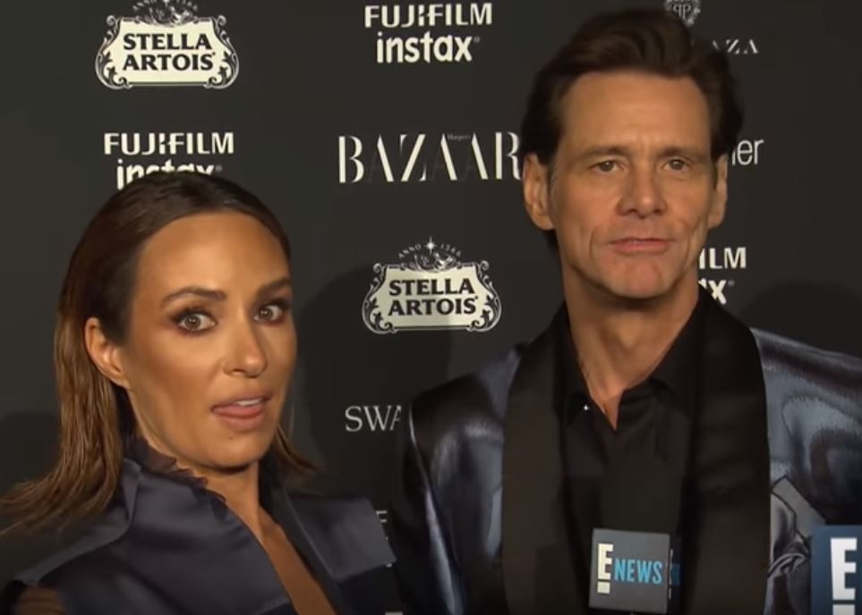 Jim Carrey on the red carpet