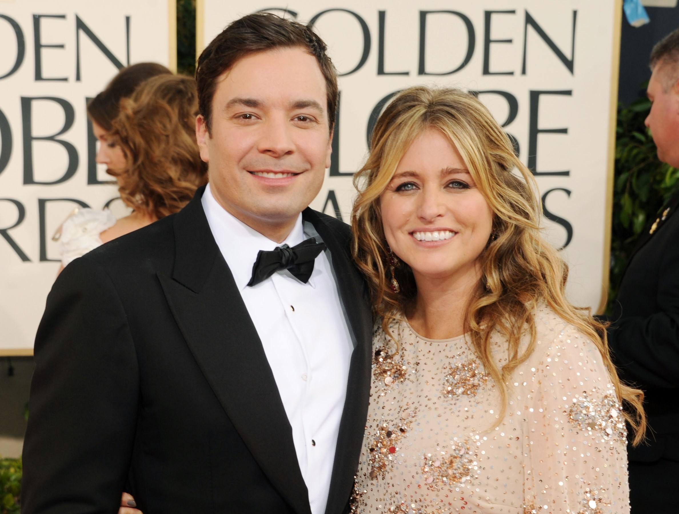 Jimmy Fallon and wife Nancy Juvonen