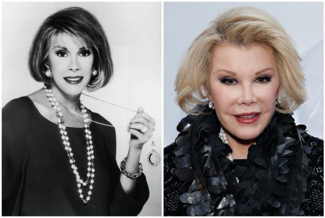 Joan Rivers collage.