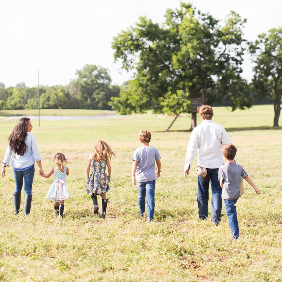 Joanna Gaines family photo