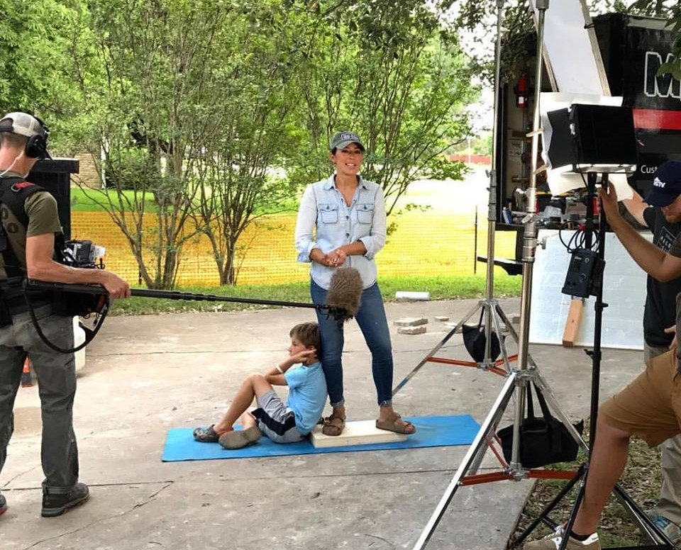 Joanna gaines filming