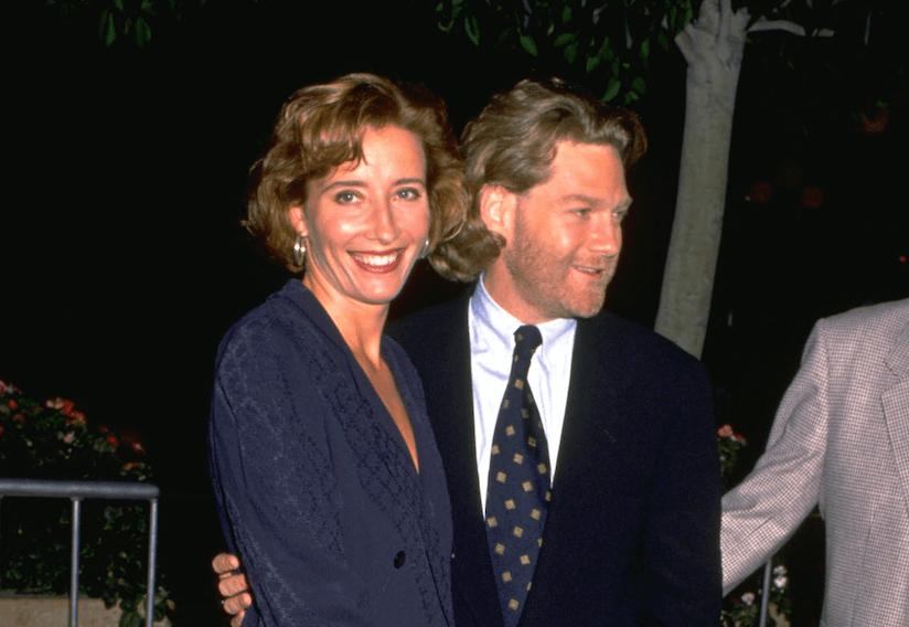 Emma Thompson and her ex-husband