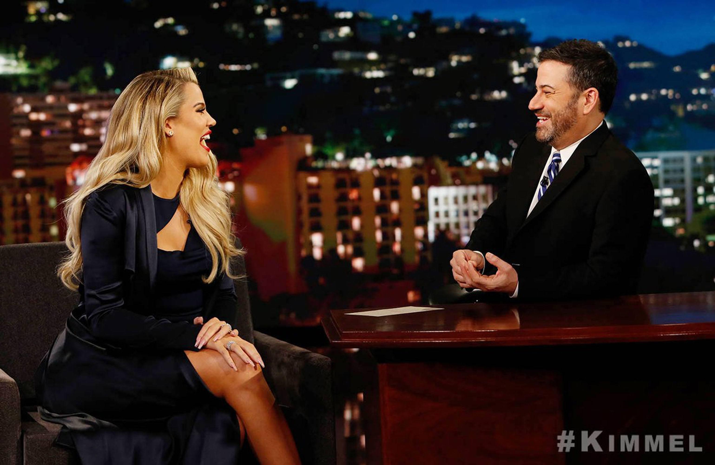 Jimmy Kimmel Khloe KardashianCredit: Jimmy Kimmel Live/Twitter