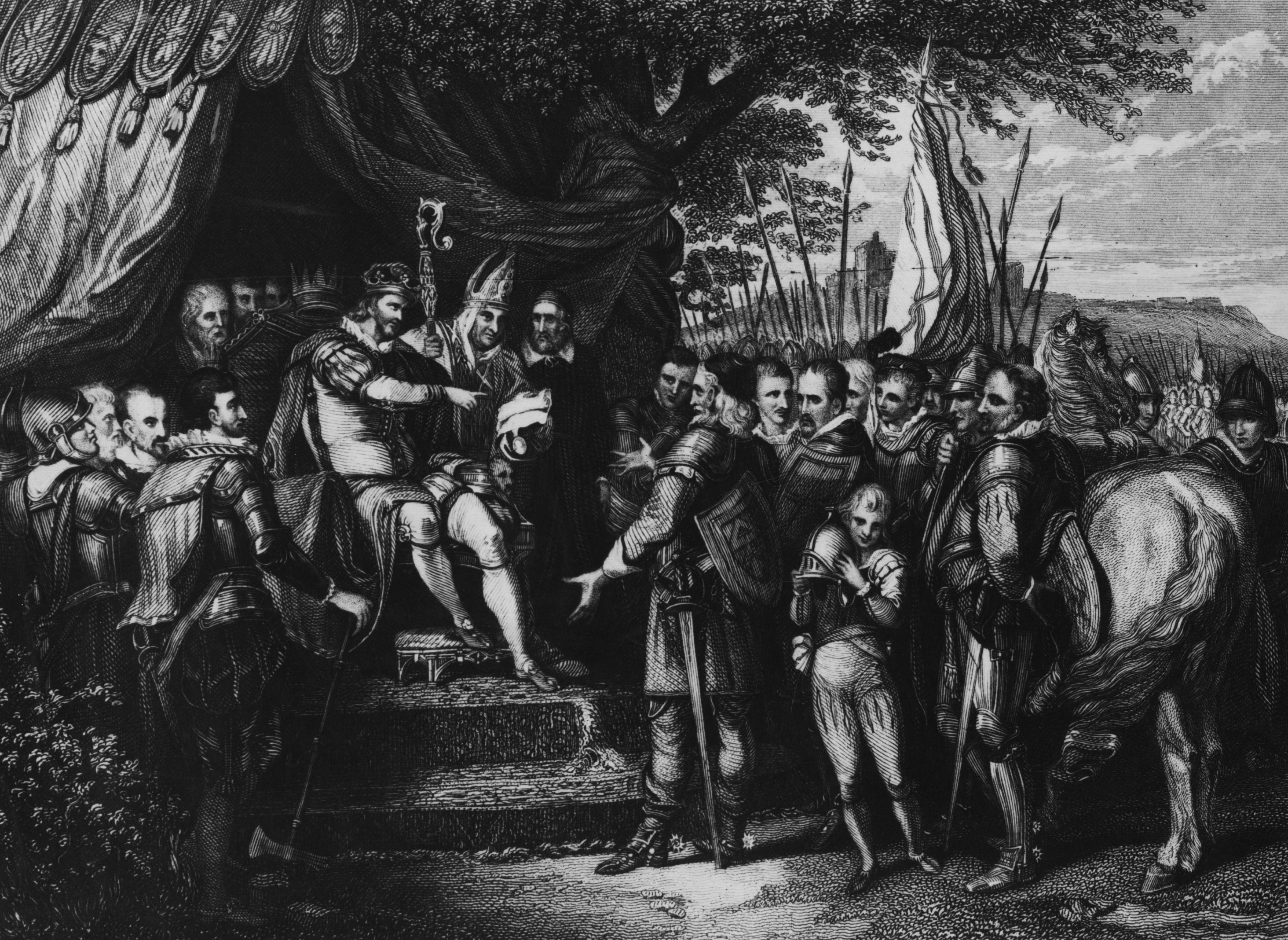 The Magna Carta King John