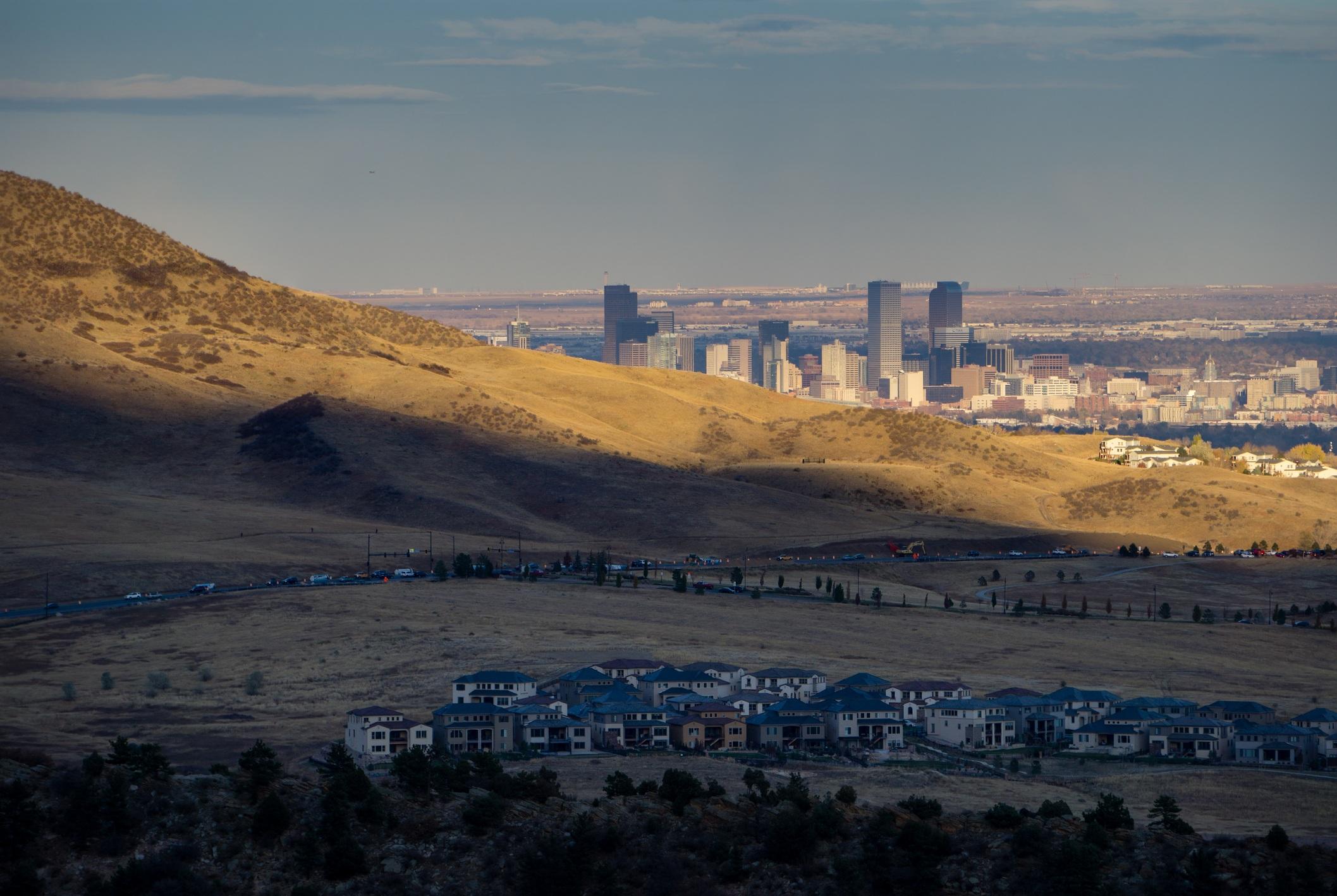 Denver and Lakewood Colorado