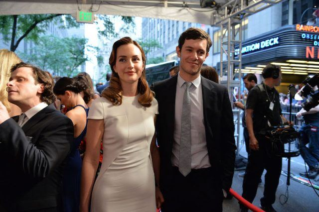 Leighton Meester and Adam Brody at the 2014 Tony Awards.