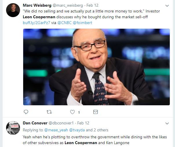 Leon Cooperman from Omega Investors