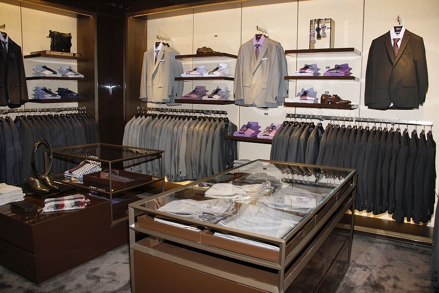 BOSS Store Opening At The Americana