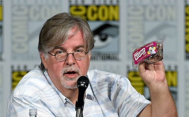 Matt Groening at Comic-Con.