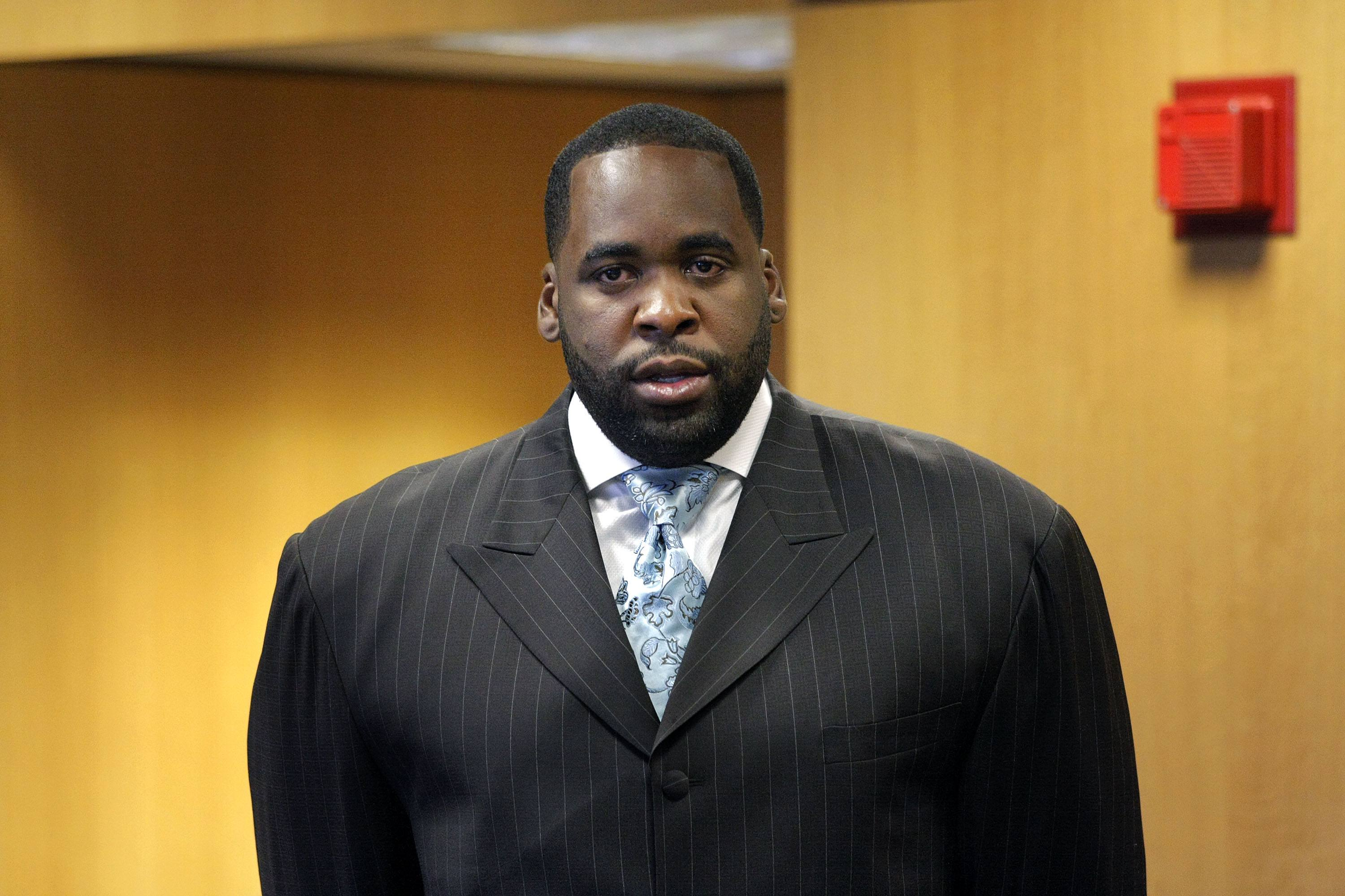 Detroit Mayor Kwame Kilpatrick arraignment
