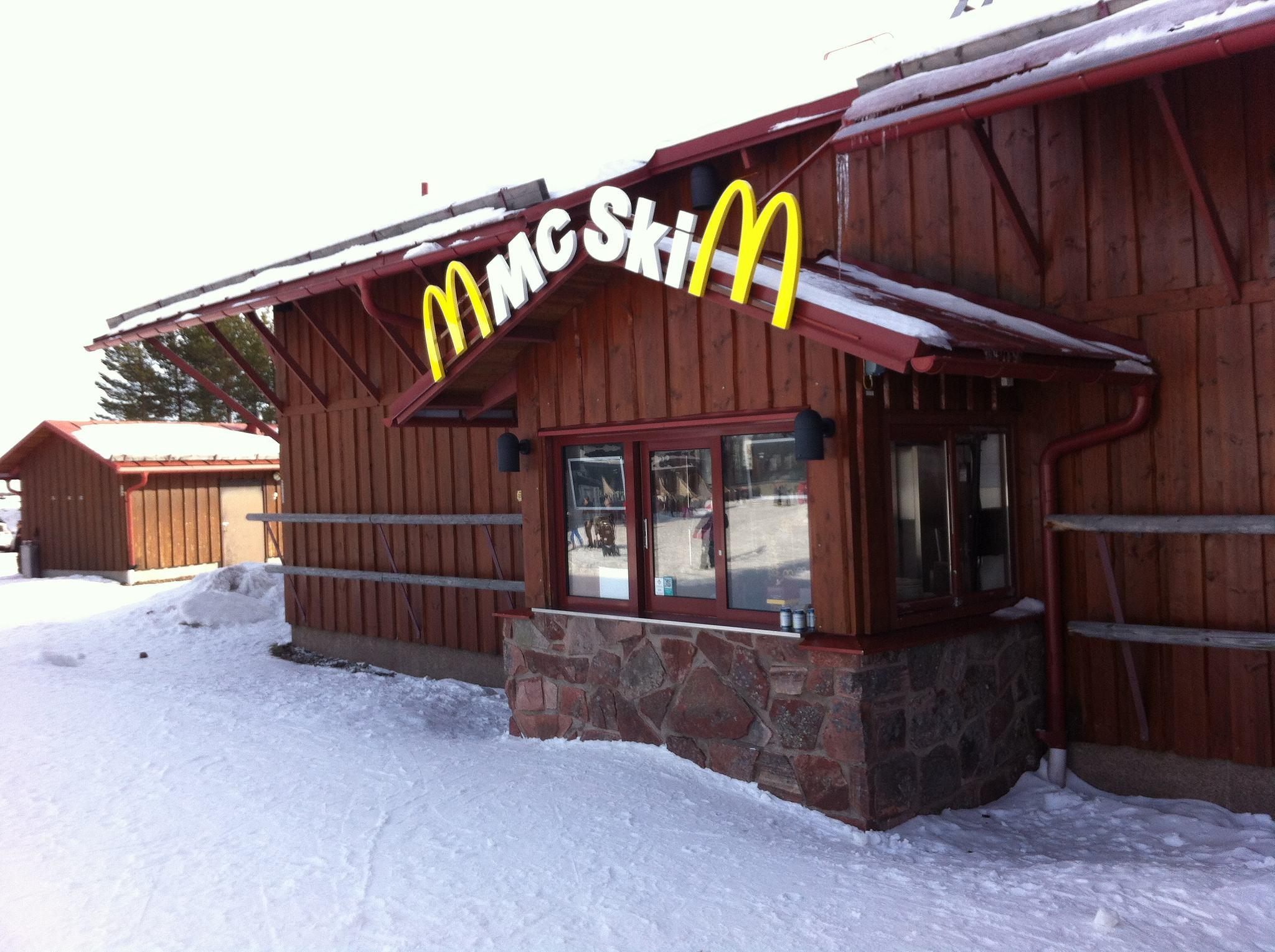 McSki Mcdonald's Sweden