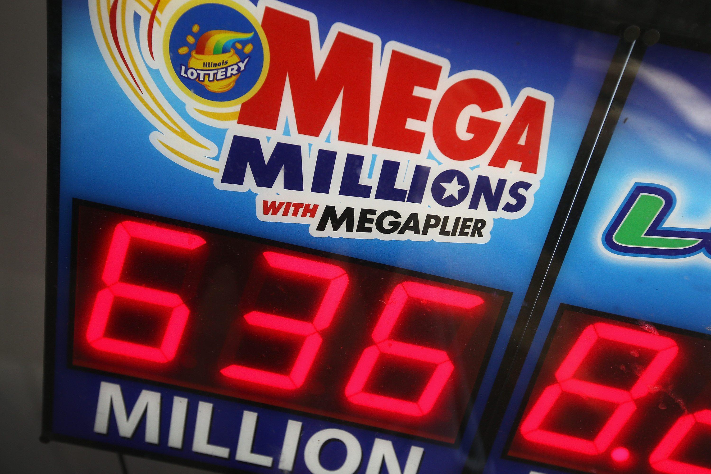 Mega Millions Lottery Jackpot Rises Past $600 Million