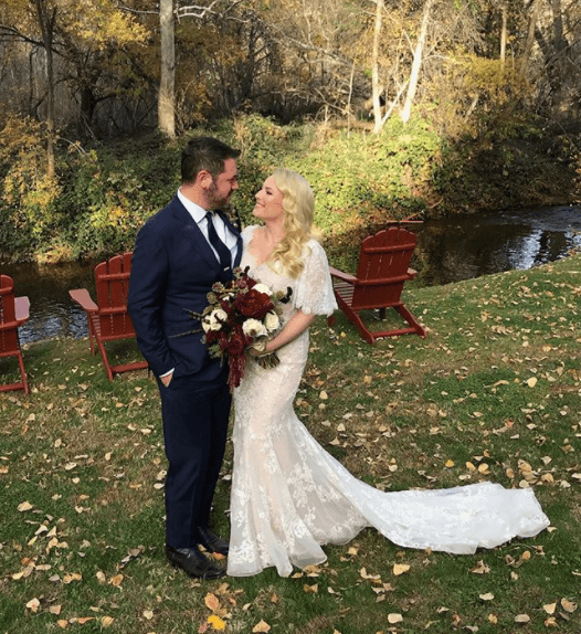 Meghan Mccain Wears Marchesa Wedding Dress