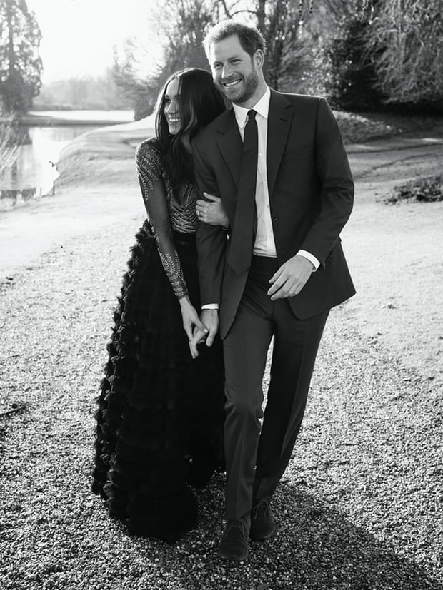 Meghan markle harry engagement photo