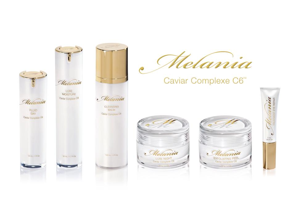 Melania Caviar Skin care collection