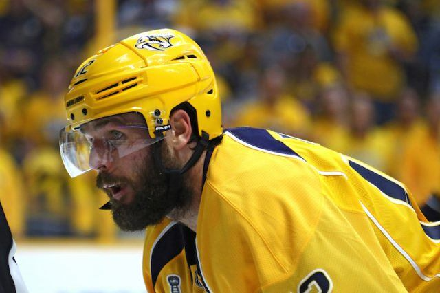 Mike Fisher in his uniform.