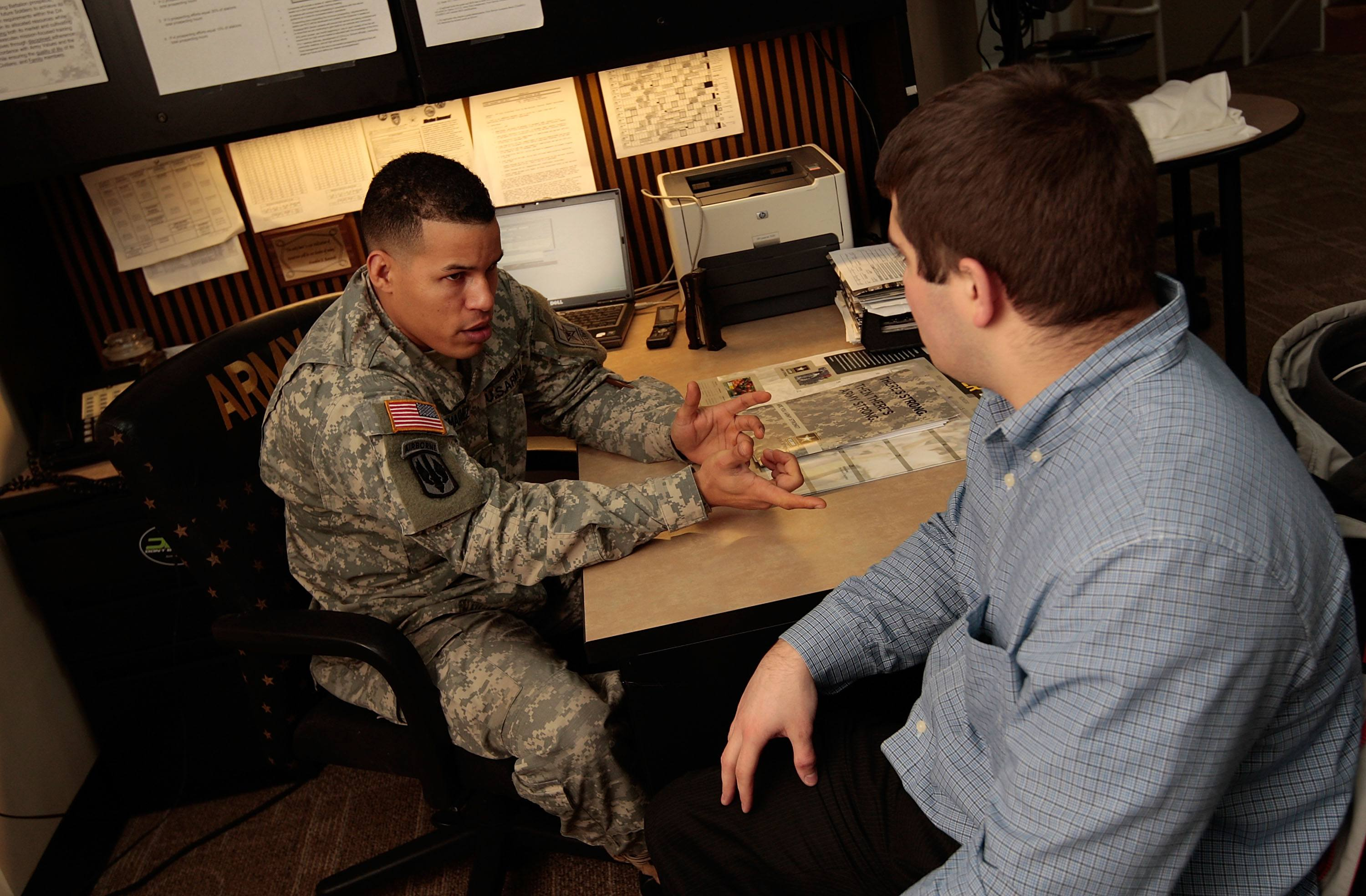 military recruiters in our high schools essay How it works ziprecruiter is offering a $3,000 scholarship to the winning high school or college student (18+) with the most creative entry in our summer/fall 2018 scholarship promotion.