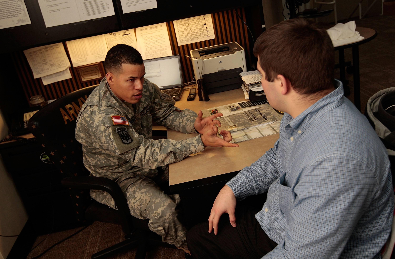 Military Opens Recruiting Station Near Ground Zero In New York