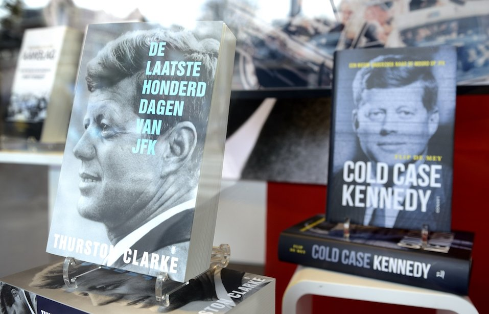 Books on late American president John F Kennedy