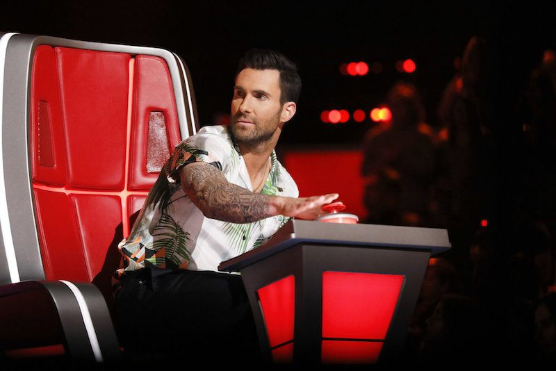 """THE VOICE -- """"Blind Auditions"""" -- Pictured: Adam Levine -- (Photo by: Trae Patton/NBC)"""