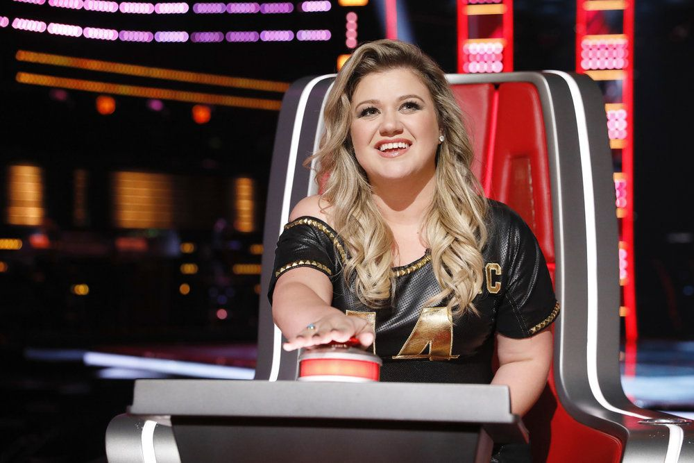"""THE VOICE -- """"Blind Auditions"""" -- Pictured: Kelly Clarkson -- (Photo by: Trae Patton/NBC)"""