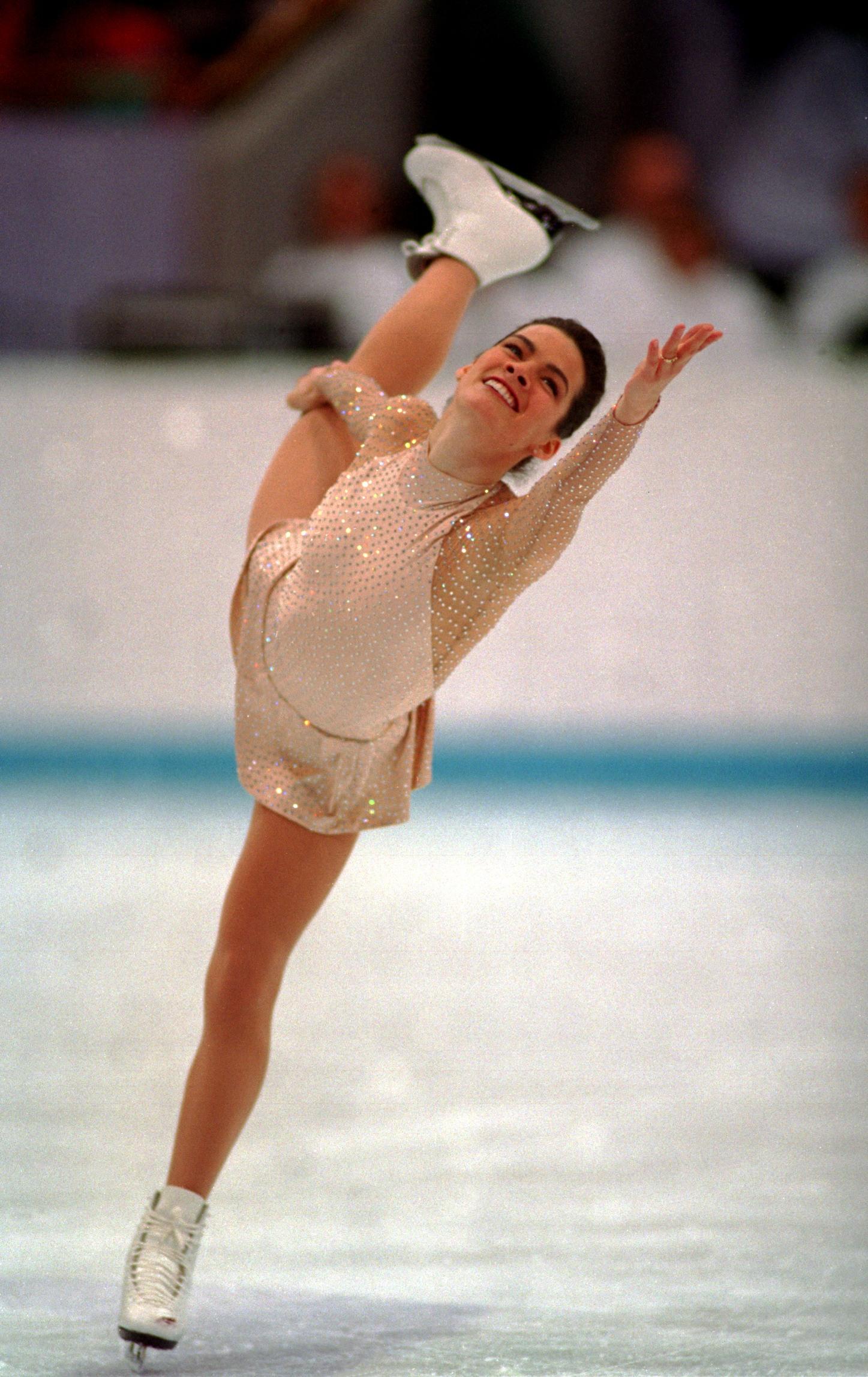 Nancy Kerrigan Vera wang uniform