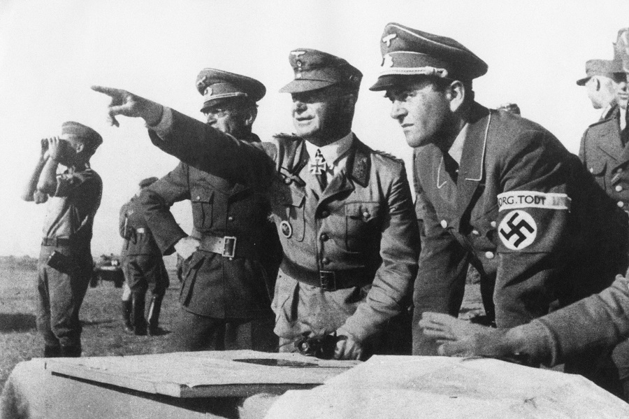 German Minister of Armaments and War Production for the Third Reich