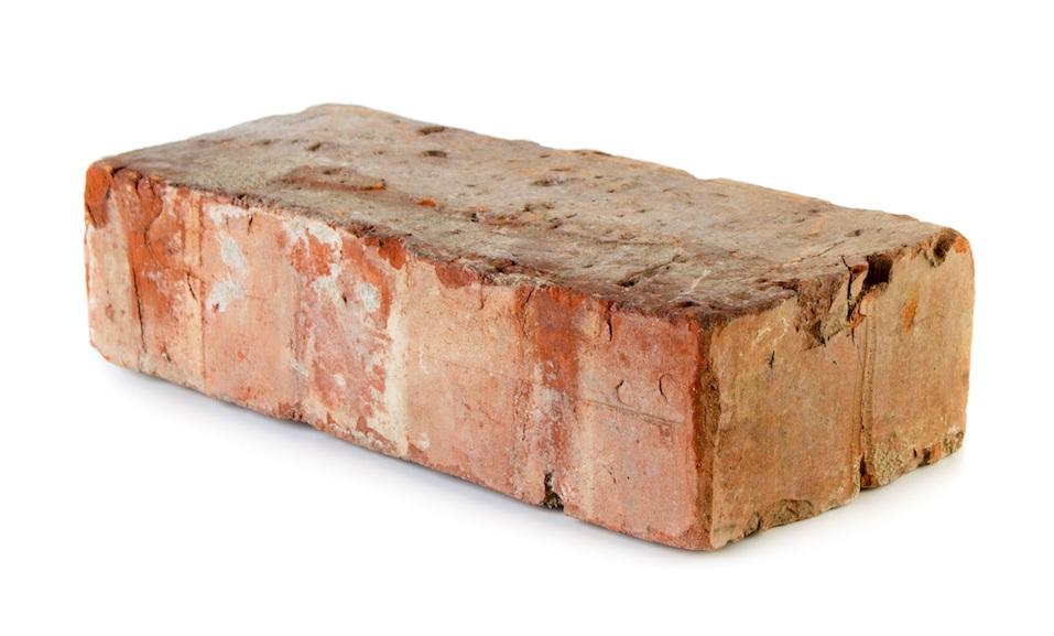 Old grungy brick