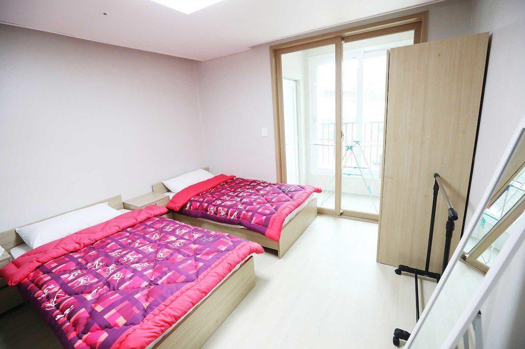 Olympic Athletes' Village bedroom