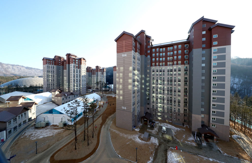 Olympic Athletes' Village in Pyeongchang