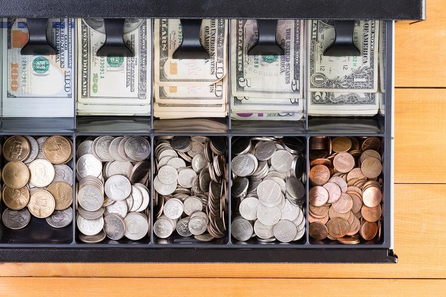 cash register drawer