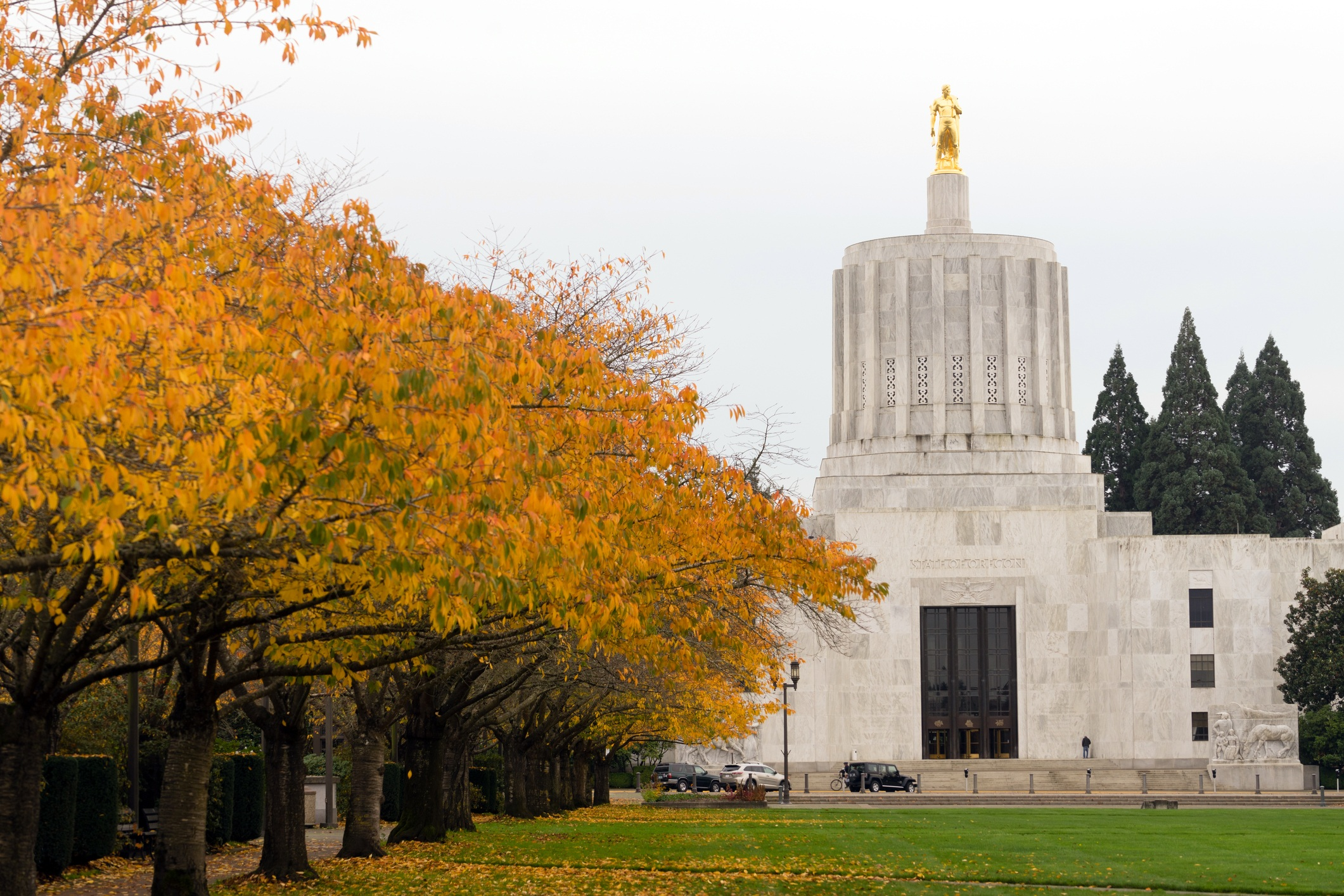 State Capitol Salem Oregon Government Capital Building Downtown