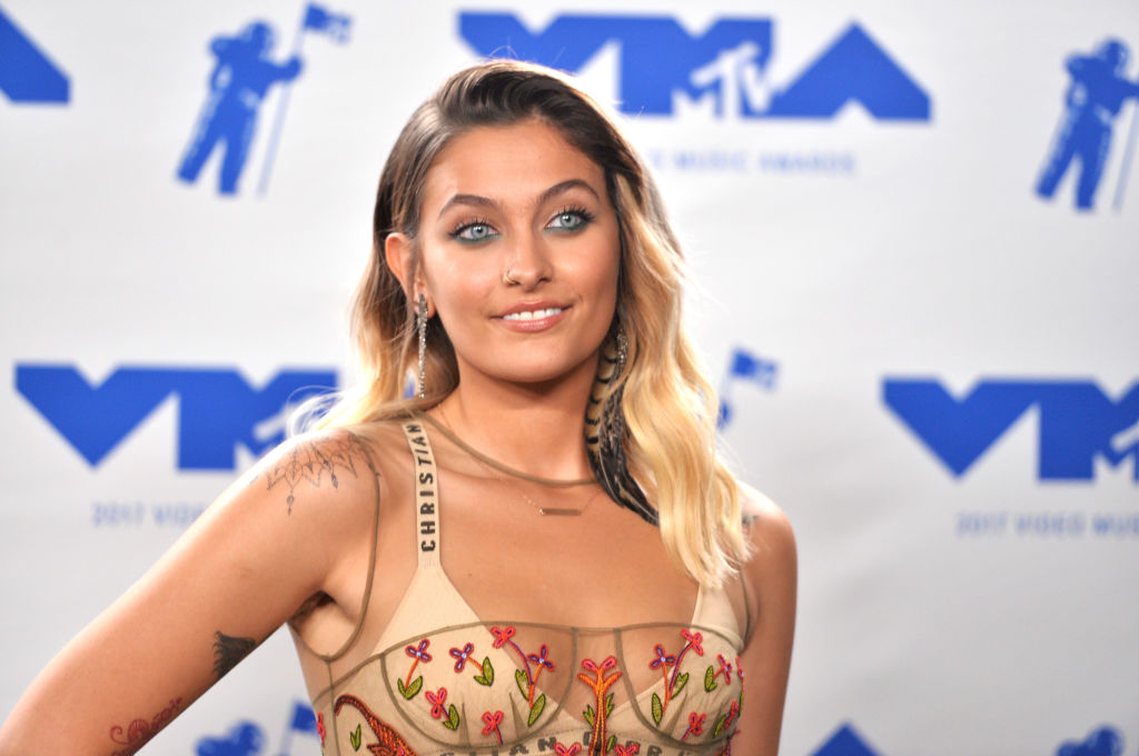 Paris Jackson at the MTV video music awards