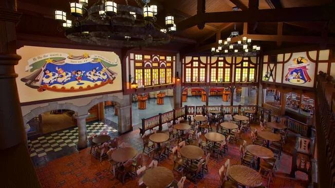 Pinocchio Village Haus restaurant disney