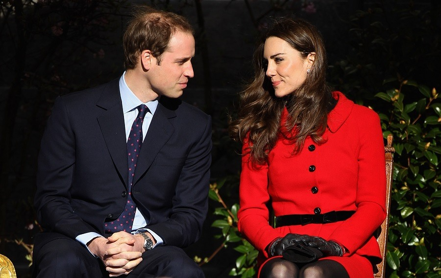 Prince William and Kate Middleton visit the University of St Andrews