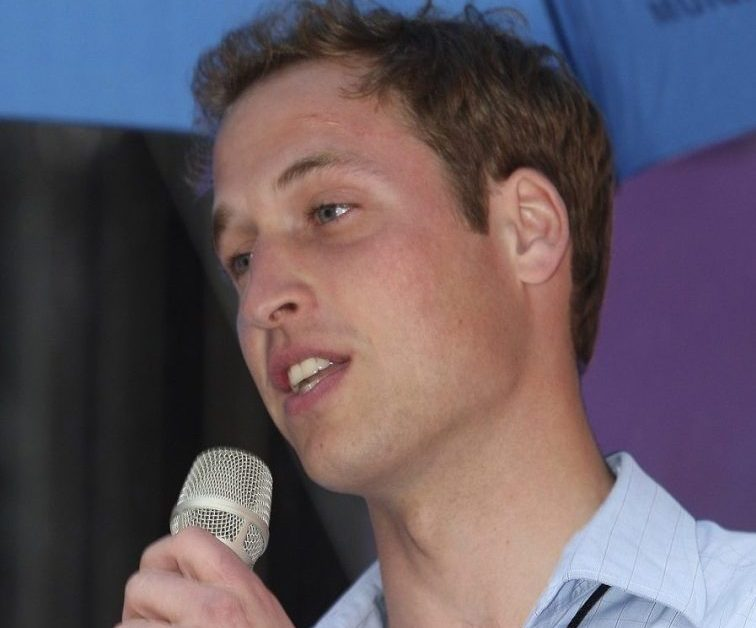 Prince William attends rehearsal with singer Joss Stone