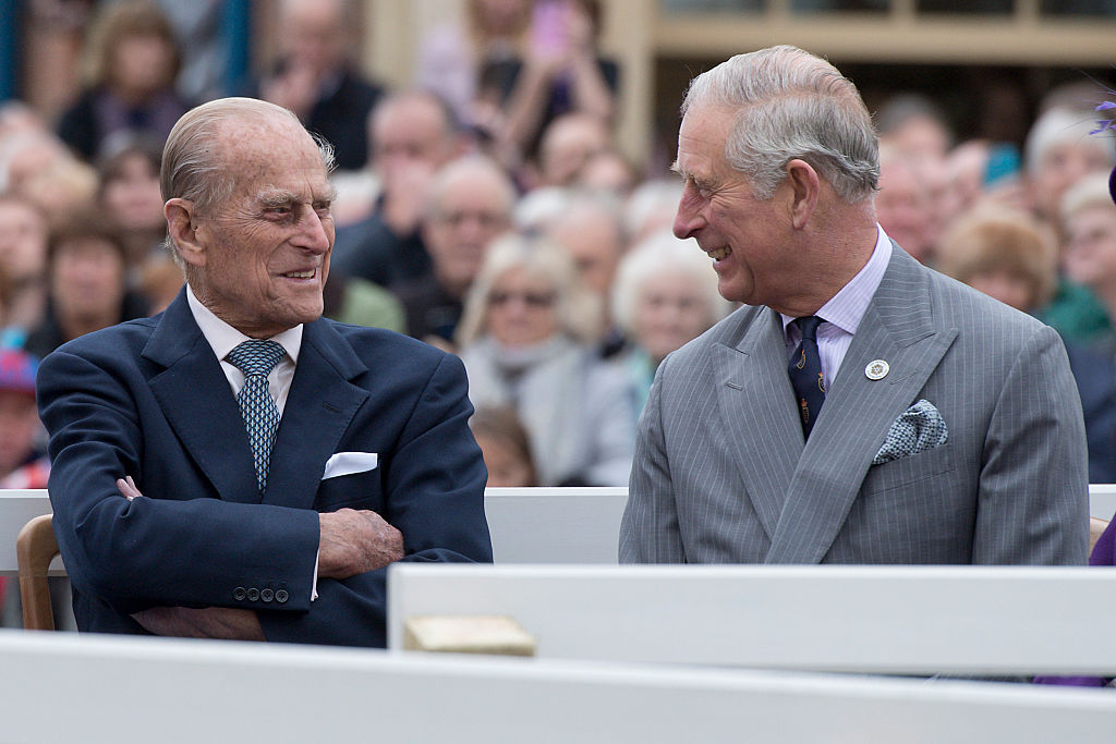 Duke Of Edinburgh, Prince Of Wales & Duchess Of Cornwall Visit Poundbury