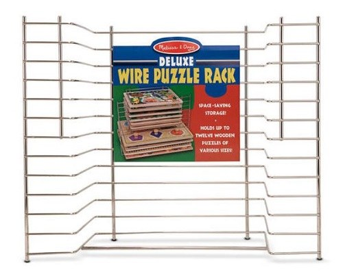 wire puzzle rack