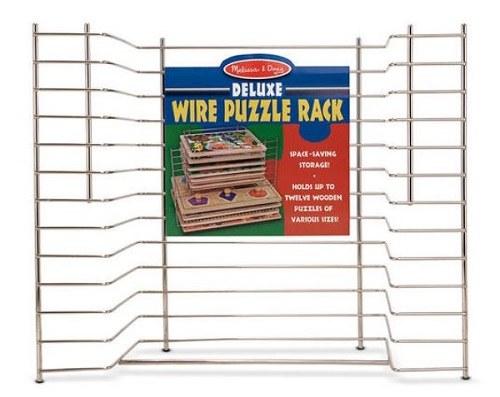 wire puzzle rack