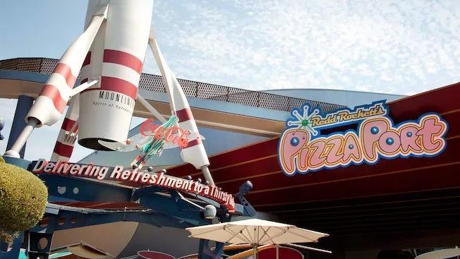 Redd Rocket's Pizza Port