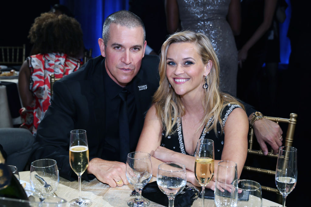 Reese Witherspoon and husband Jim Toth