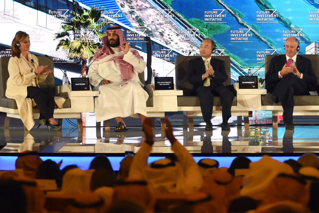 """The Crown Prince pledged a """"moderate, open"""" Saudi Arabia, breaking with ultra-conservative clerics in favour of an image catering to foreign investors and Saudi youth"""