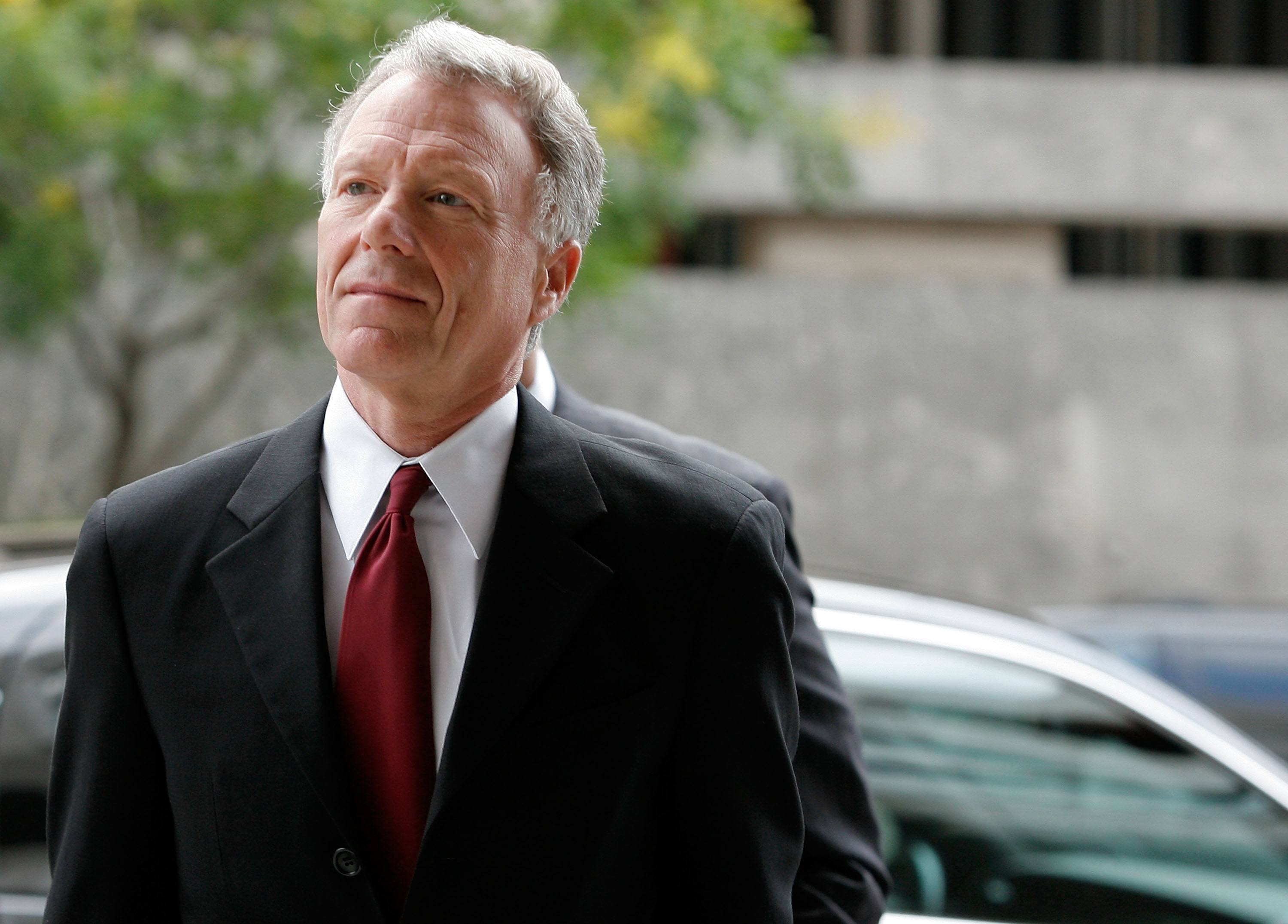 Lewis Scooter Libby at a hearing