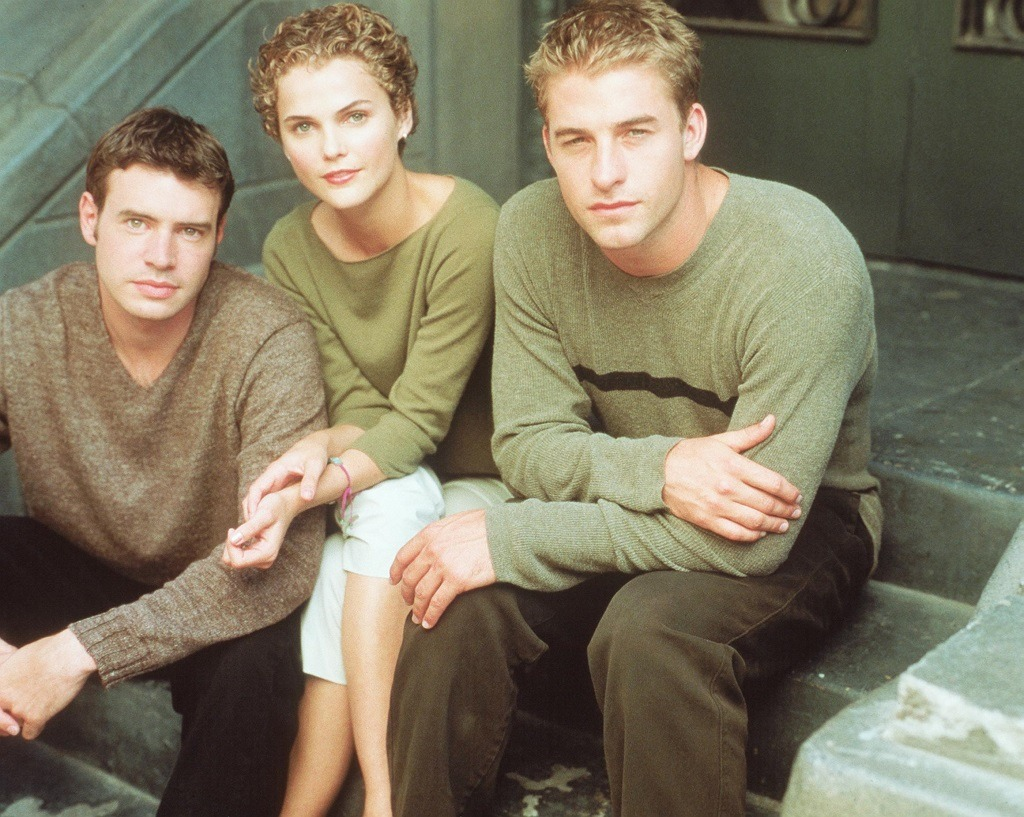 Scott Foley, Keri Russel And Scott Speedman From The Show Felicity