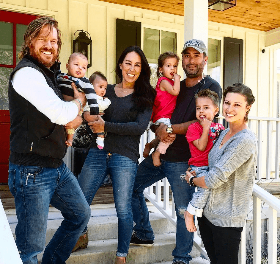 Matsumoto family and Chip and Joanna Gaines