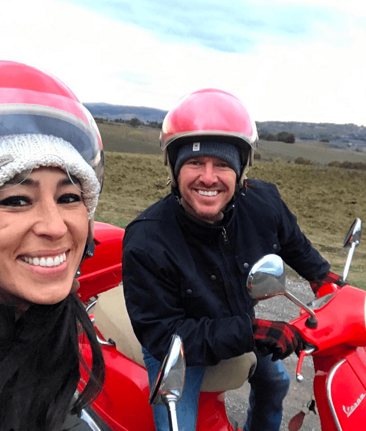 Chip and Joanna Gaines in Italy