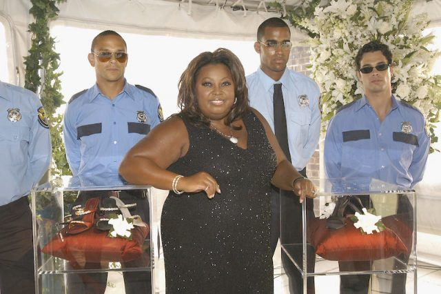 Star Jones at a fashion event.